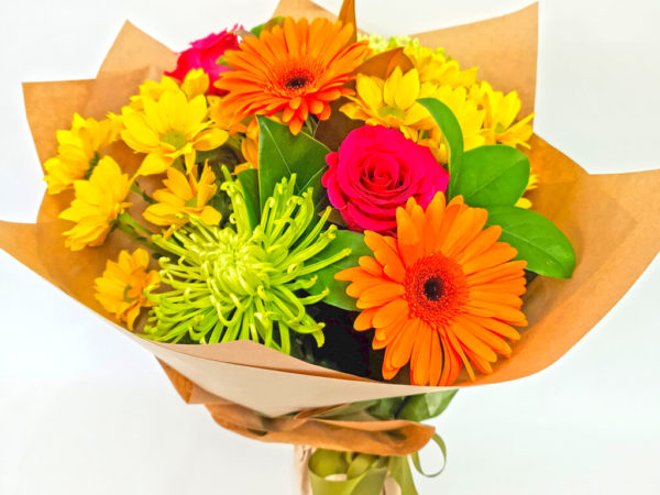 Bright Bouquet of Flowers