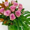 colourful choice flowers in vase
