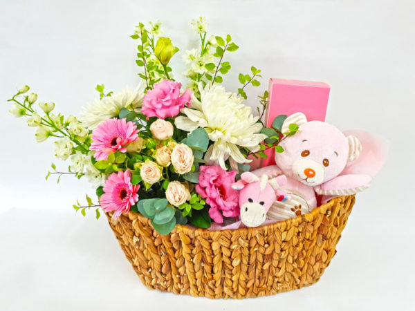 Market Flower Basket for Her