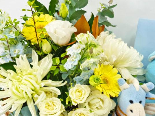 Market Flower Basket for Him