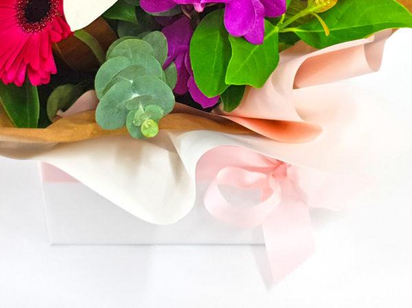 Premium Box Arrangement of Flowers
