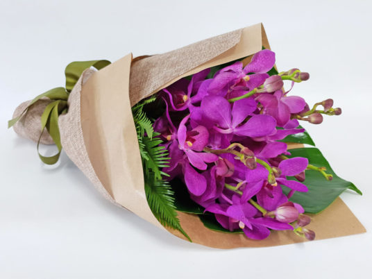 Tropical Orchid Flower Wrap