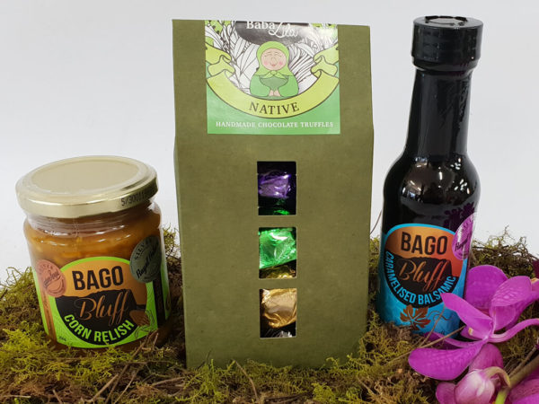 trio of treats gift hamper