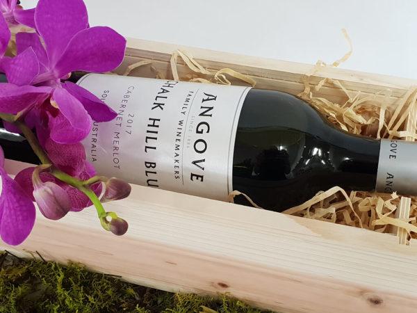 wood wine & fleur gift