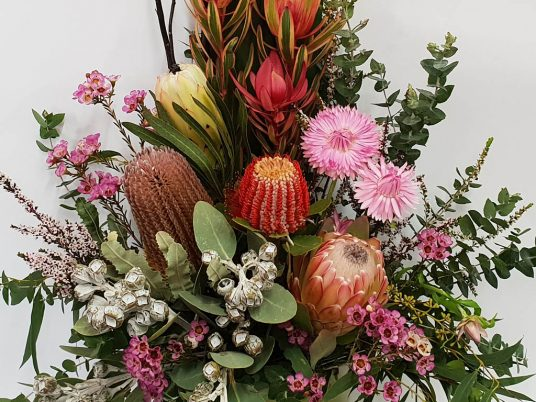 Bush Flowers - Bush Beauty Floral Arrangement