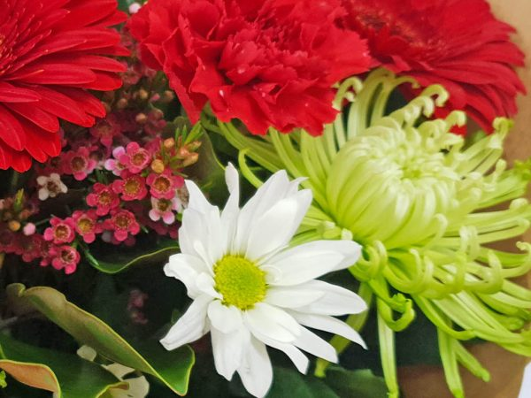 Santa Baby Christmas Flowers